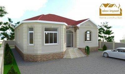 120 kv m 1 mərtəbəli yaşayış evi