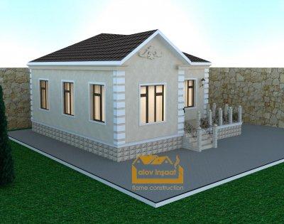 118 kv m 1 mərtəbəli yaşayış evi