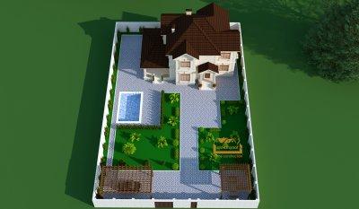 375 kv m 2 mərtəbəli yaşayış evi